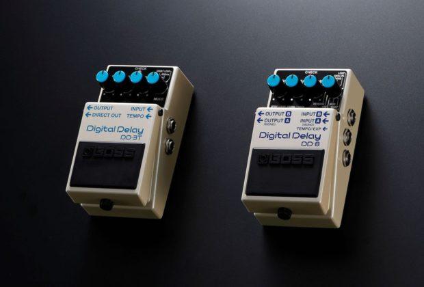 Boss DD-3T DD-8 pedali stompbox delay chitarra guitar electric elettrica roland strumenti musicali