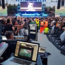 Exhibo Milano Rocks Allen&Heath live eventi audiofader