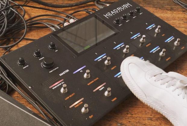 Headrush Looperboard strumenti musicali