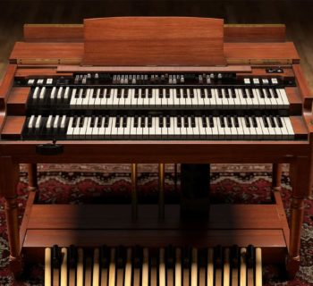 Ik Multimedia Hammond B-3X virtual instrument keyboard keys tastiera organ music producer b3 strumenti musicali