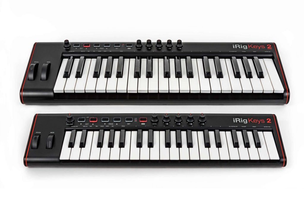 Ik Multimedia iRig Keys 2 controller midi tastiera keyboard mogar producer strumenti musicali