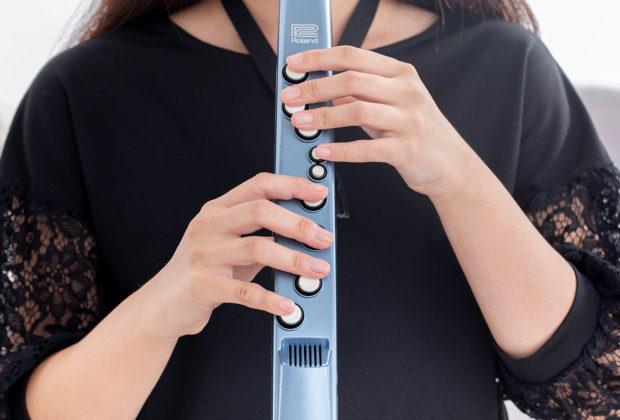 Roland Aerophone Mini controller wind breath sax flute midi usb strumenti musicali