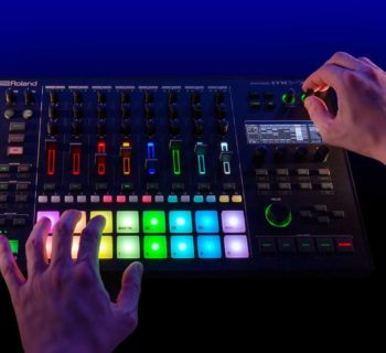 Roland MC-707 dj producer groovebox groove live perform strumenti musicali