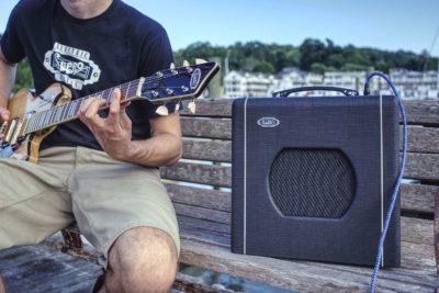 Supro Blues King 8 chitarra elettrica amp mogar strumenti musicali