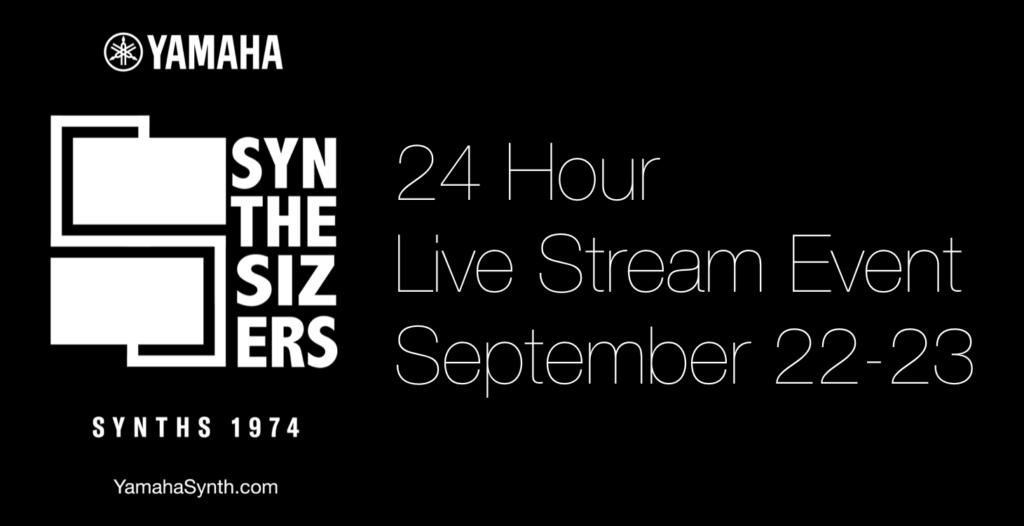 Yamaha Synth sintetizzatore evento live streaming broadcast strumenti musicali