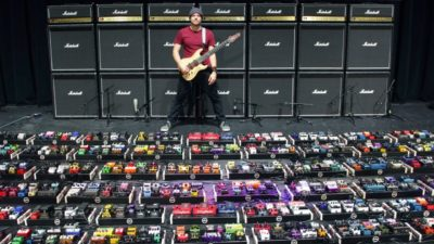 rob scallon guinness pedalboard strumenti musicali