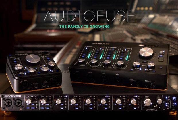 Arturia Audiofuse interfaccia audio pro studio project home digital midiware strumenti musicali