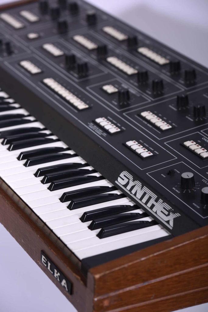 Elka Synthex vintage synth sintetizzatori strumenti musicali