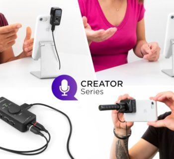 Ik Multimedia Creator Series interfaccia mic mobile hardware iphone ipad strumenti musicali