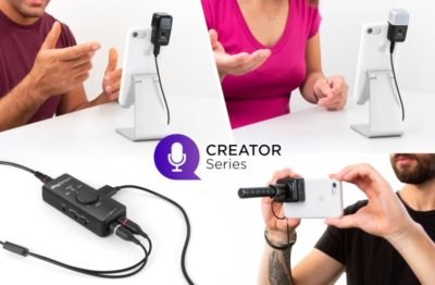 Ik Multimedia Creator Series interfaccia mic mobile hardware iphone ipad strumenti musicali