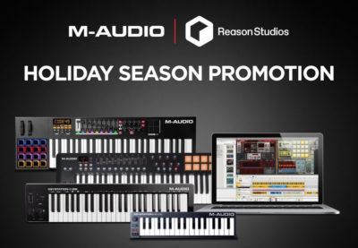 M-Audio Reason Studios DAW software producer soundwave strumenti musicali