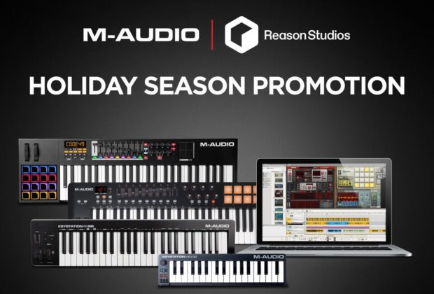 M-Audio Reason Studios DAW software producer soundwave strumenti musicali