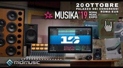 Midi Music Musika Expo 2019 native instruments producer dj presonus strumenti musicali