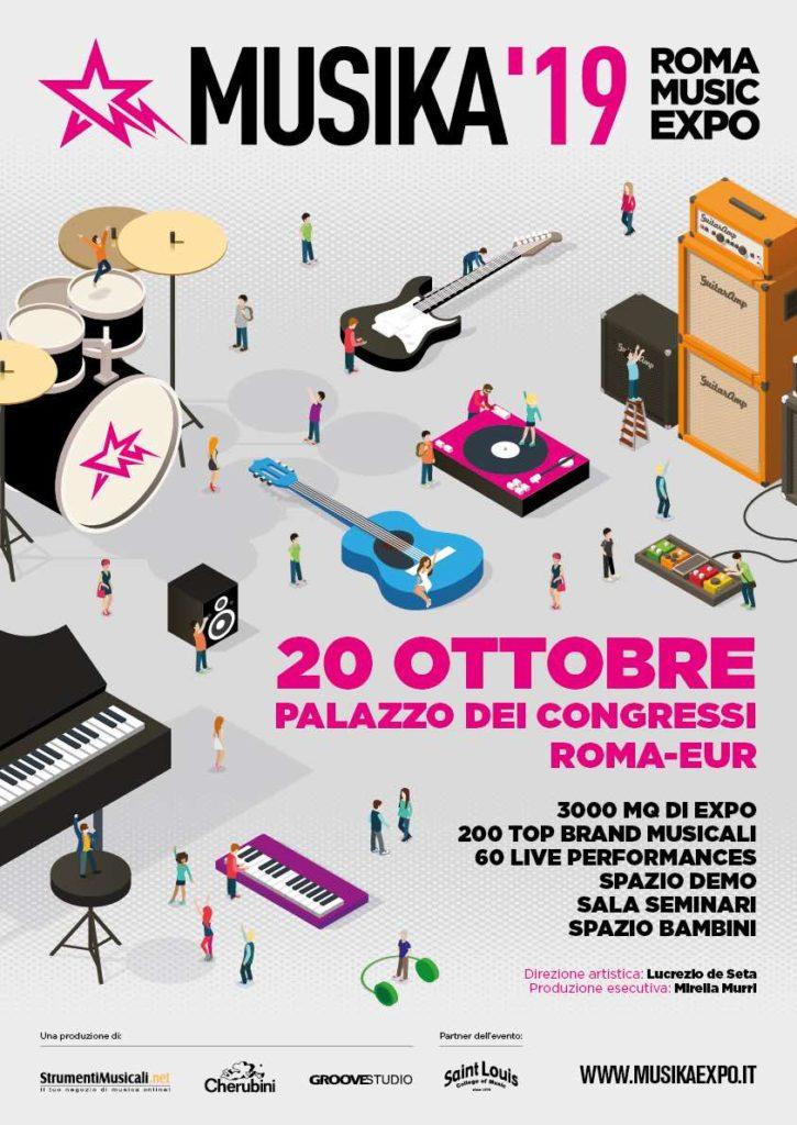 Musika 2019 expo eventi music life roland yamaha midi music strumenti musicali