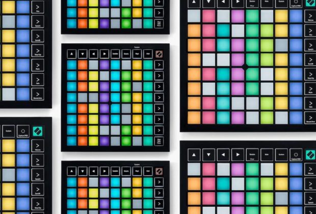 Novation Launchpad controller midi keyboard pad ableton producer dj midiware strumenti musicali