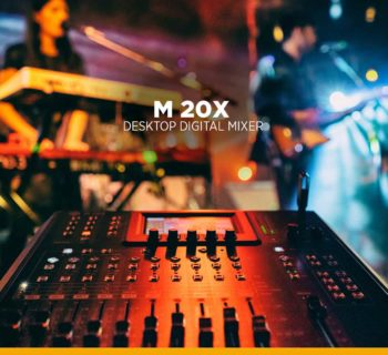 RCF M-20X mixer digital live rec strumenti musicali