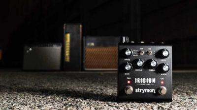Strymon Iridium pedale pre amp ir cabinet simulation modeler backline strumenti musicali