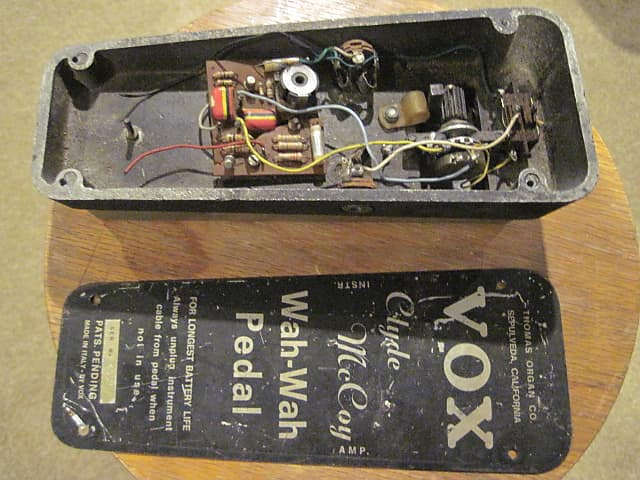 Vox Clyde McCoy Wah strumenti musicali