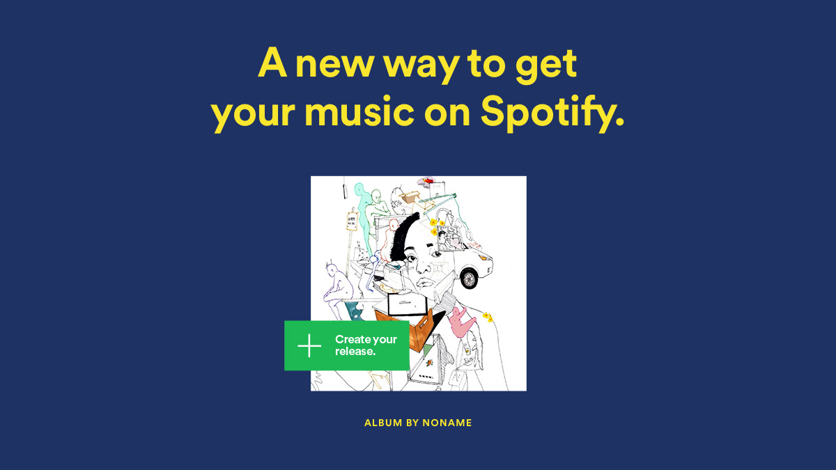 Spotify for artists strumenti musicali