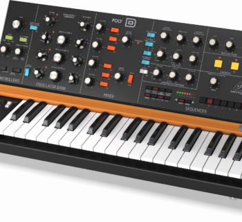 Behringer Poly-D synth hardware sintetizzatore analog music producer strumenti musicali