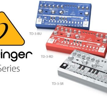 Behringer TD-3 synth bass line analog roland tb303 strumenti musicali