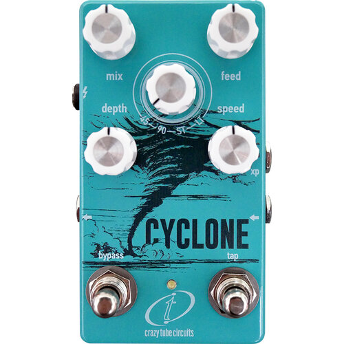 Crazy Tue Circuits Cyclone pedale fx phaser voodoo factory strumenti musicali