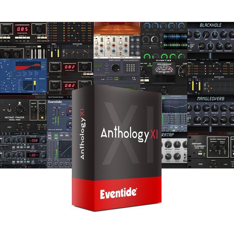 Eventide Anthology XI bundle plug-in mix mastering daw software virtual audiofader