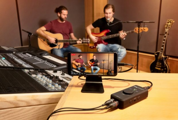 Ik Multimedia iRig Stream rec mobile smartphone tablet interfaccia audio mogar strumenti musicali