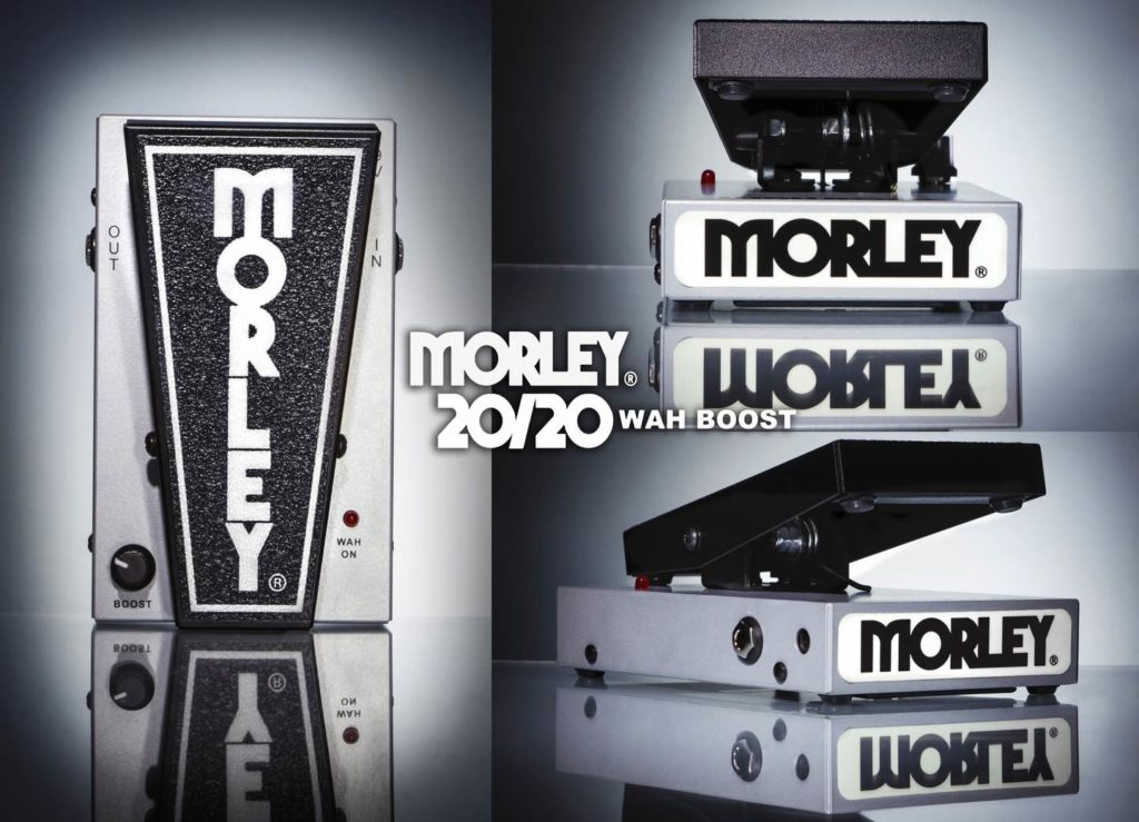 Morley 20/20 Wah Boost  pedali effetti fx soundwave strumenti musicali