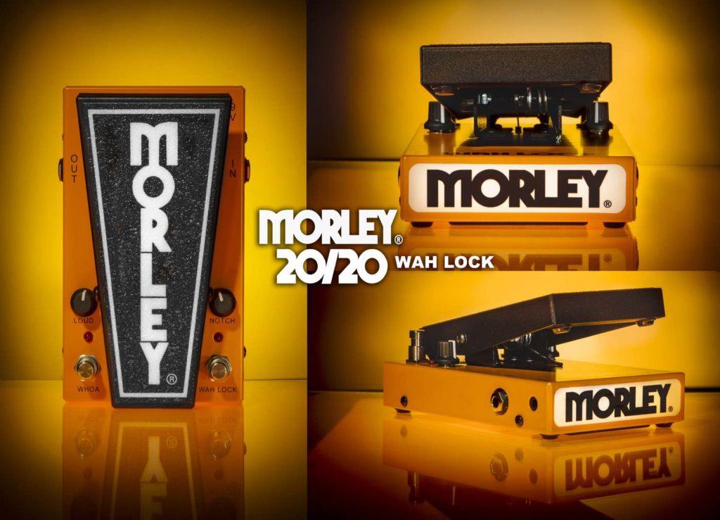 Morley 20/20 wah lock pedali effetti fx soundwave strumenti musicali