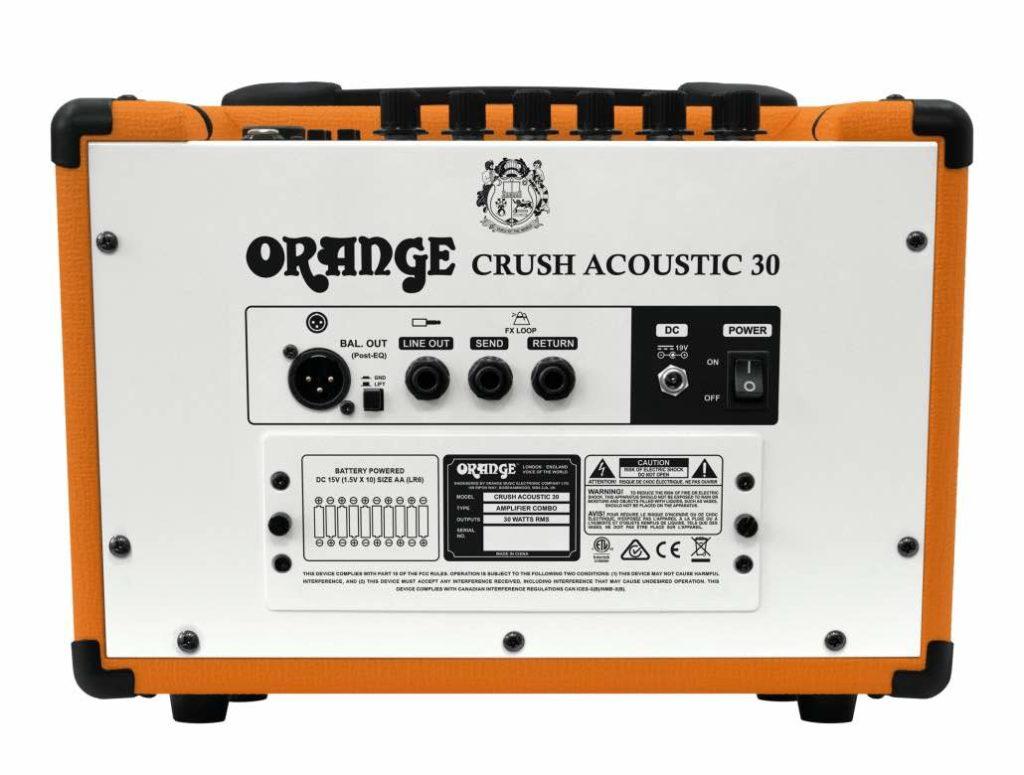 Orange Crush Acoustic-30 chitarra acustica ampli adagio strumenti musicali