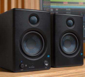 PreSonus Eris E45bt bluetooth studio monitor home project midi music rec mix audiofader