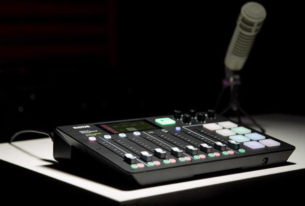 Røde RødeCaster pro midi music podcast broadcast radio rec mixer aggiornamento firmware electro-voice re20 strumenti musicali