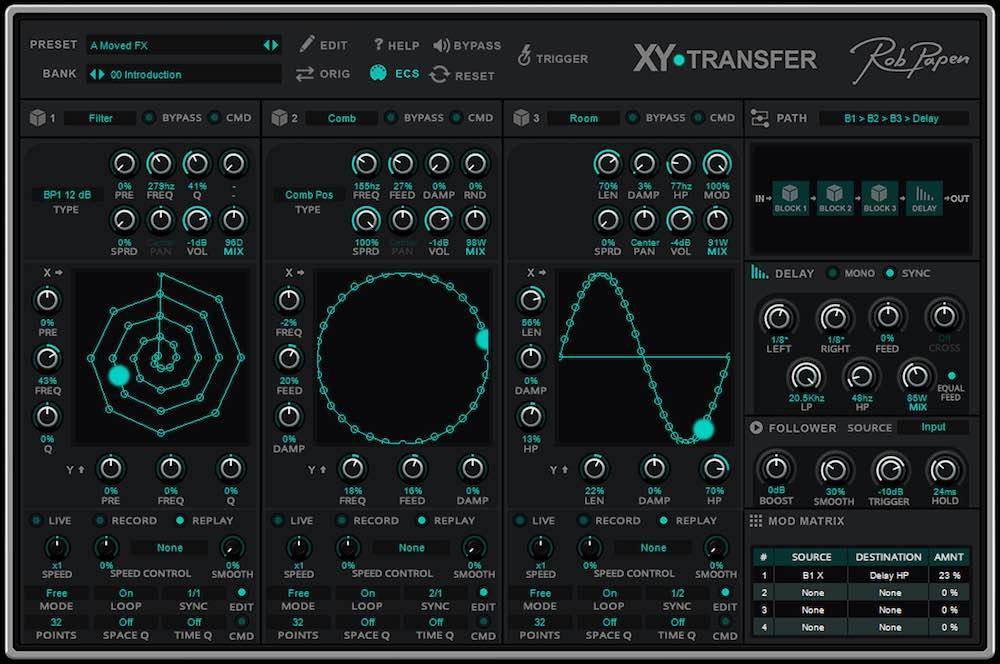 Rob Papen XY-Transfer fx explorer 6 strumenti musicali