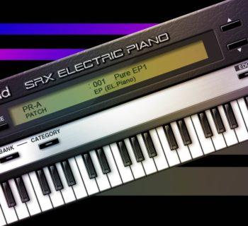 RolandCloud SRX el piano virtual instrument roland cloud strumenti musicali