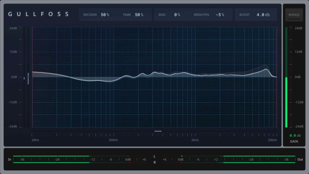 Soundtheory Gullfoss plugin eq software mix daw virtual strumenti musicali
