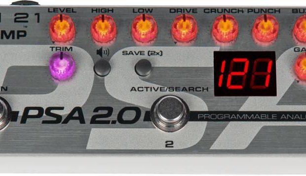 Tech21 Sansamp PSA 2.0 pedal bass guitar amp pre sound service strumenti musicali