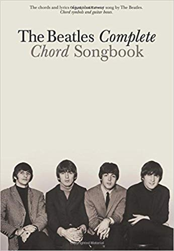 The Beatles Complete Chord Songbook strumenti musicali