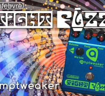 Amptweaker Lefebvre TightFuzz limited edition bass fx pedale stompbox voodoo factory strumenti musicali