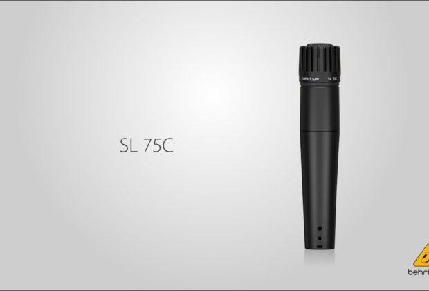 Behringer SL-75C mic live rec sm57 shure strumenti musicali