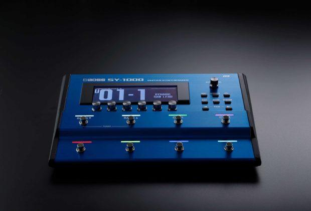 Boss SY-1000 synth chitarra guitar bass pedale stompbox pedaliera roland strumenti musicali