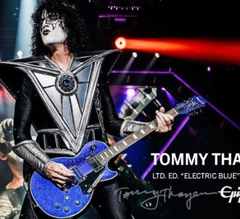Epiphone Tommy Thayer Electric Blue Les Paul Outfit ltd ed chitarra guitar kiss strumenti musicali