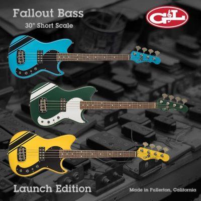 G&L Fallout Bass Launch Edition aramini strumenti musicali