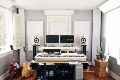 KRK Rokit G4 White Noise studio pro project home hardware monitor mpi electronics audiofader