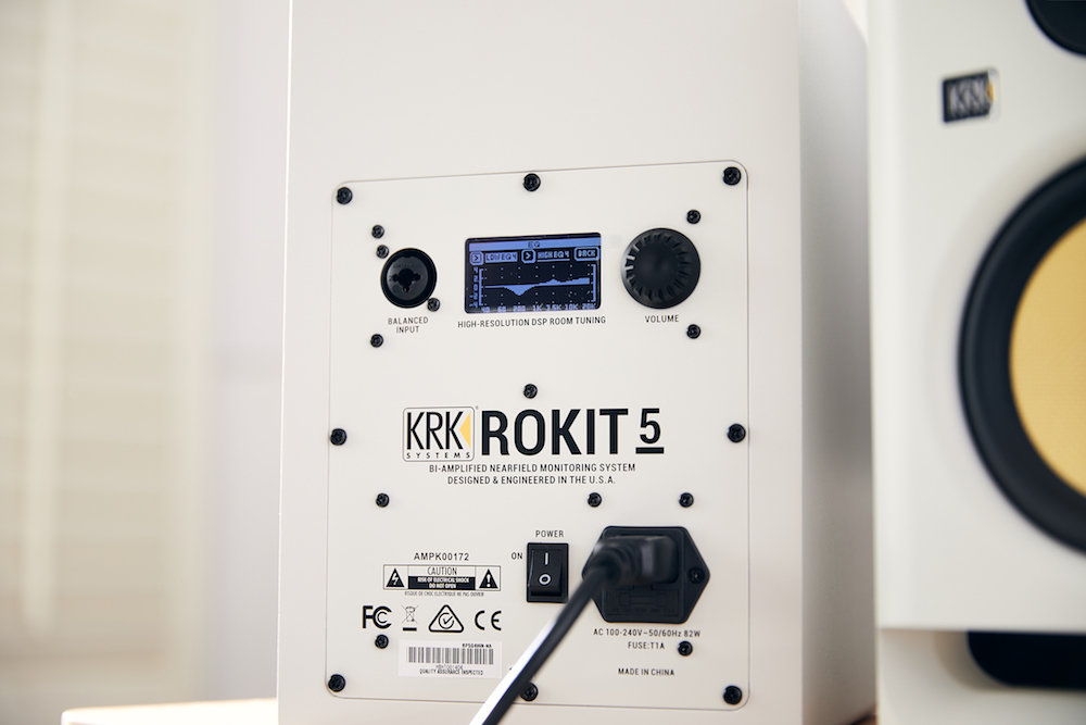 KRK Rokit G4 White Noise studio pro project home hardware monitor mpi electronics audiofader