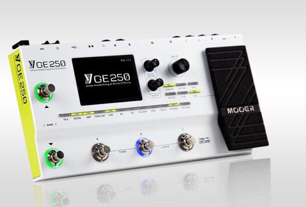 Mooer GE250 multieffetto amp modelling guitar chitarra backline strumenti musicali