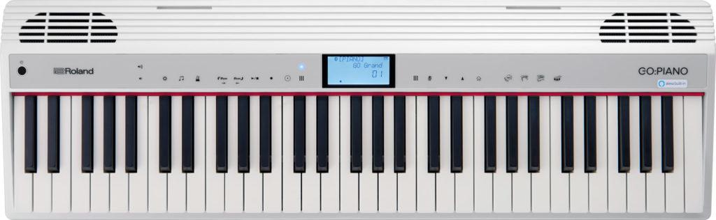 Roland GO-Piano amazon Alexa tastiera keyboard entry level strumenti musicali
