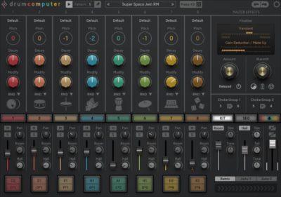 Sugar Bytes DrumComputer synth fx drum machine strumenti musicali