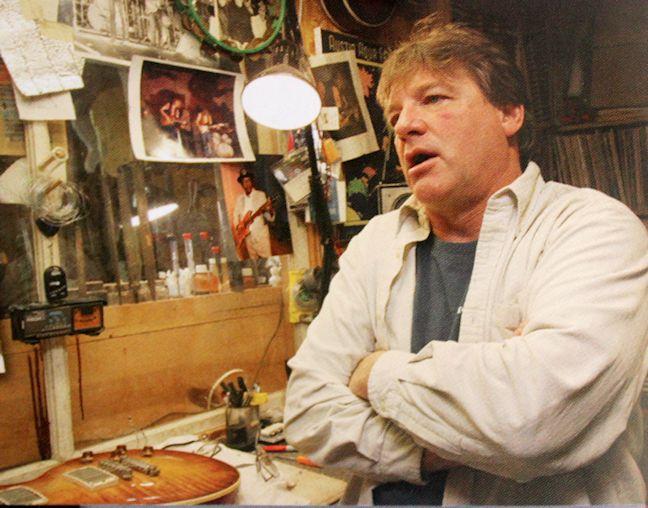 Tom Murphy Gibson Custom Shop chitarra guitar strumenti musicali