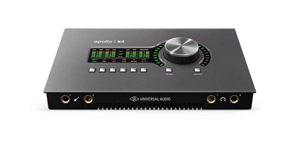 Universal Audio Apollo x4 interfaccia studio pro home project daw software hardware test audiofader